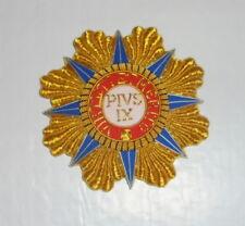 Medieval Italy Royal Holy Pian Pius Papal Order Vatican Medal State Knight Badge