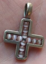 Pendentif croix argent massif