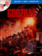 New & Sealed Godzilla (2014) MetalPak Blu-ray / DVD / Digital [SteelBook] Mint