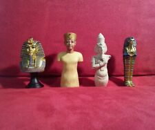 Egypt King Tut Toy Action Figure Set Lot Collection Bust Statue History Gift