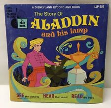 The Story Of Aladdin And His Lamp LLP-356 45 Record With Book 1971