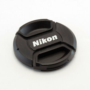 NIKON LC-55 STYLE 55MM CENTRE PINCH CLIP ON LENS CAP FOR NIKON GENERIC