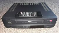 Zenith VRL 2110 VHS Player Video Cassette Recorder VCR 2 Head W/ Remote Tested