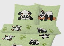 Baby Bettwäsche Panda Bär Mit Sternen 100x135cm 40x60cm