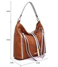 BNWT Handbag Bessie London Shoulder Bag with Tassle Detail (BL3109)