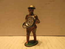 Barclay B79 Toy Metal Lead Soldier With French Horn Figure Marching Band