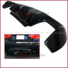 Fit 08-13 E90 M3 Sedan Carbon Fiber V Style Rear Bumper Diffuser Replacement Lip