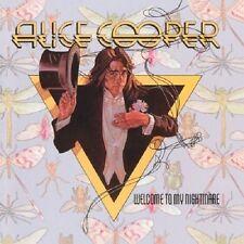 Alice Cooper Welcome to My Nightmare CD+Bonus Tracks NEW SEALED Only Women Bleed
