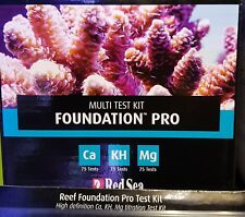 Red Sea Reef Foundation Pro Calcium Alkalinity Magnesium Multi Test Kit Fast Del
