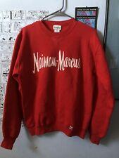 Vintage Neiman Marcus Sweatshirt Size Medium Red