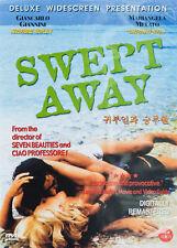 Swept Away (2002) Giancarlo Giannini, Mariangela Melato DVD *NEW