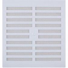 NEW x2 Map Vent Adjustable Vent White 229 x 229mm UK SELLER, FREEPOST