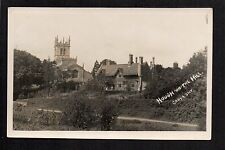 Hough on the Hill - real photographic postcard