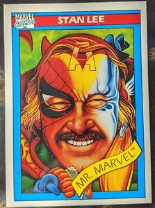 1990 MARVEL UNIVERSE SERIES 1 - Stan Lee Mr. Marvel #161
