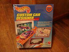 1997 HOT WHEELS--CUSTOM CAR DESIGNER CD ROM W/ VW BUS (NEW)