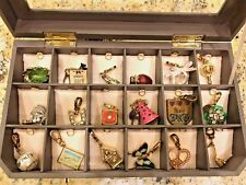 Juicy Couture Jewelry Box (18 Charm Holder) with 18 Charms