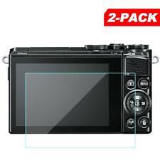 2x Tempered Glass Screen Protector for Nikon 1 J5 J4 V3 Digital Camera