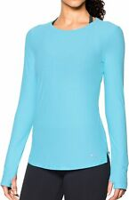Under Armour CoolSwitch Long Sleeve Womens Running Top - Blue