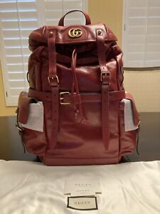 New Authentic Gucci Re Belle Leather Backpack Large  $3,500