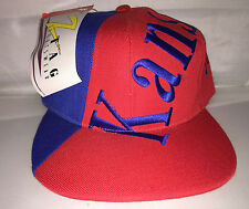 Vtg Kansas Jayhawks Snapback hat cap rare 90s NWT NCAA College Paul Pierce ds