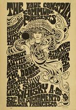 THE DOORS - Whisky A Go-Go, Sacramento 1967 Music Concert Poster Art
