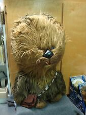 STAR WARS SUPER CHEWY CHEWBACCA TALKING PLUSH