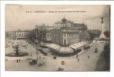 CPA Bordeaux allées de Tourny Gobineau café restaurant  carte postale/cp441