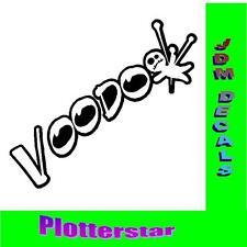 Voodoo nr2 Puppe  JDM Sticker aufkleber oem Power fun like Shocker