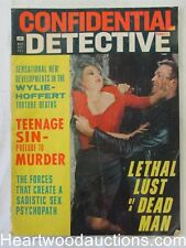 """""""Confidential Detective"""" May 1966 Assault Cover"""