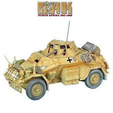DAK022 SdKfz 222 Light Armored Reconnaissance Veh. 15th Pz. Div. by First Legion