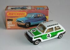 Matchbox Superfast No. 21, Renault 5TL, - Superb