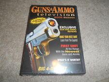 GUNS & AMMO TELEVISION 2005 Season 3 DVD 4 Disc Set