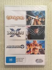 Eragon X-Men Fantastic 4 (DVD R4) NEW SEALED 3 Movies All Have Special Features