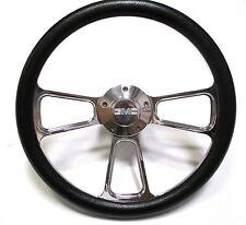 1974-1994  GMC C-Series Pick-Up Truck - Black & Billet Steering Wheel - Full Kit