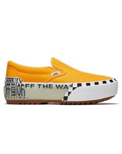 Vans Classic Slip-On Stacked Bright Marigold A4TZV1LC Size 4.5 Men's /  6 Wmns