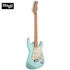 Stagg SES50M-SNB Full Size ST Style Classic Electric Guitar - Sonic Light Blue