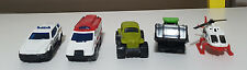 MATCHBOX TOY CARS LOT OF 5 HELICOPTER BUGGY TRUCKS CARS