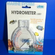 saltwater hydrometer Test for Marine Salt Aquarium Fish tank live Coral rock sps
