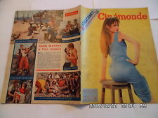 CINEMONDE N°1106 20/10/1955 BARDOT J.MARAIS E.BLAIN J.DEAN GABIN F.ARNOUL   K10