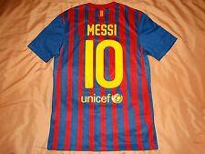 RARE Barcelona #10 MESSI S shirt jersey HOME camiseta 2011 2012 nike