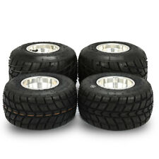 Go Kart Tires, Front and Rear Durable 10X4.50-5 11x6.0-5, Complete Set of (4)