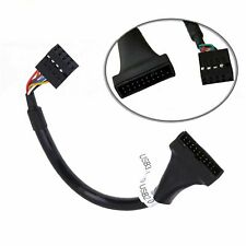 20 pin motherboard data cable Motherboard 20 pin turn usb3.0