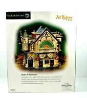 Department 56 Theatre of The Macabre-All Hallows Eve Dickens' Village #58706 NOB
