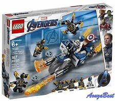 Lego Marvel Superheros 76123 Avengers End Game Captain America Outriders Attack