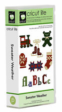 CRICUT *SWEATER WEATHER* CARTRIDGE *NEW* CHRISTMAS NEEDLEPOINT IMAGES & FONT...