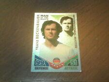 Topps MATCH ATTAX World Cup 2010 - FRANZ BECKENBAUER International Master Card.
