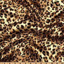 2 Panel Drapes 60W X 84L Cheetah Leopard Satin Photography Window Curtains Wall