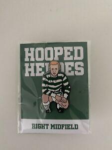 Hoidy Hooped Heroes Celtic FC - Jimmy Johnstone Pin Badge