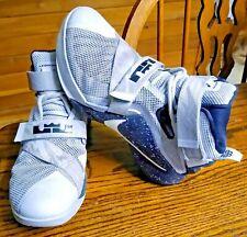 Nike LeBron Soldier 9 749490-010 Size US 7.5 Men's Gray Black 02/20/2015