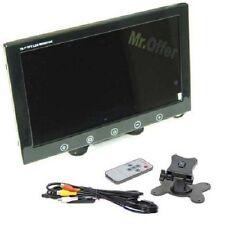 MONITOR 9 POLLICI LCD PER TELECAMERE VIDEOSORVEGLIANZA PARCHEGGIO AUTO RETROMARC